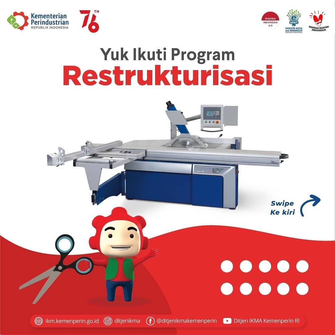 3 IKM Tanjungpinang Mengajukan Permohonan Program Restrukturisasi Permesinan 2021